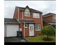 3 bed detached family home , off road parking, front and rear garden Acocks Green