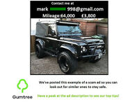 2001 Land Rover Defender TD5 2001 sport bmw freelander -- Read the desc before replying to the ad!!!