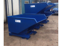 Forklift Tipping Skips for sale or Hire New and sold from stock