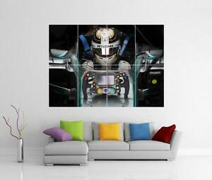 LEWIS HAMILTON F1 FORMULA ONE GIANT WALL ART PICTURE PHOTO POSTER