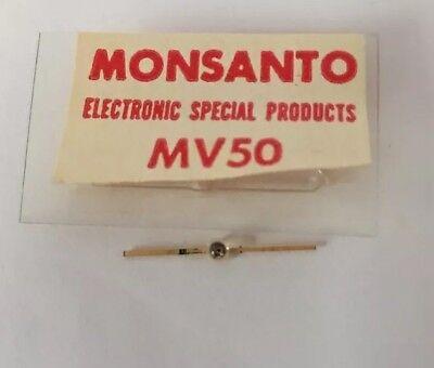 Monsanto Mv 50 Led  Rare  Vintage