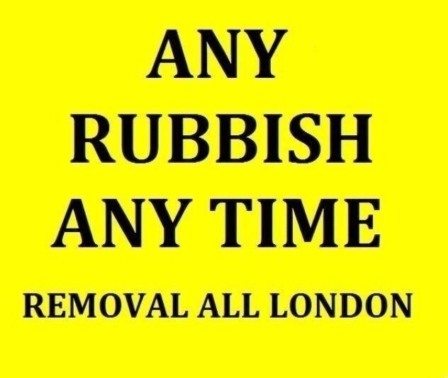 RUBBISH CLEARANCE 07985775626 REMOVAL WASTE COLLECTION GENERAL