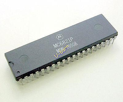 Mc6821p Dip-40 Peripheral Interface Adapter