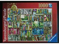 Ravensburger 1000 Piece Jigsaw - The Bizarre Bookshop