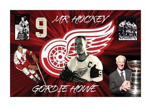 Gordie Howe Canvas - New In Box!