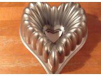 Nordic Ware Elegant Heart Bundt Tin RRP £40
