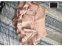 Silk skort/skirt