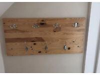 Wooden coat hanger board - hand made