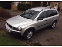 2005 private reg VOLVO XC90 2.4 D5 SE AUTOMATIC 7 SEATER 4X4 DIESEL FSH EXCELLENT CONDITION WARRANTY