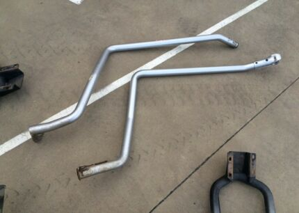 Landcruiser 79 v8 side rails and steps