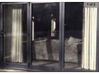 NEW 3 Door Bi Folding Door PLUS Two Matching Windows