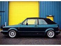 1993 Mk1 Golf Cabriolet