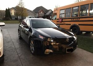 2009 Acura TL AWD- tech . With safety and emission