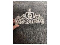 Diamanté headpiece tiara