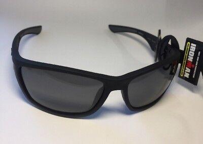Foster Grant Ironman Control Black Sunglasses Polarized 100% UVA & UVB (100 Uva Uvb Sunglasses)