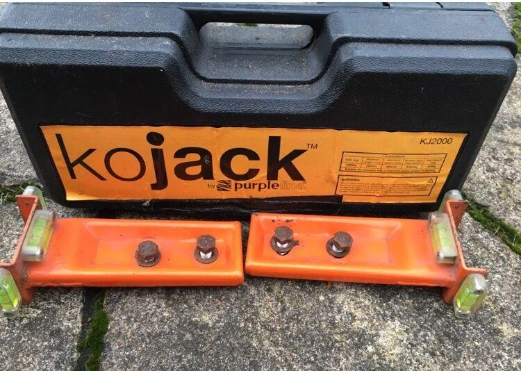 kojack caravan jack instructions