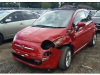 2010 2014 Breaking Parts Fiat 500 L Abarth 695 engine 312A1000 window Wing Mirror ecu alternator abs