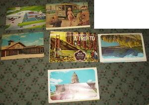 Souvenir Books, Postcard Books, Souvenir Folders, and Postcards