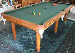 Billiard table, 8' x 4' quality slate - Urgent sale, best offer! Mornington Mornington Peninsula Preview