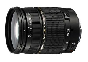 Brand New Tamron SP AF28-75mm F/2.8 XR Di Camera Lens for Canon