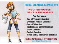Regular Cleaning from £35 - End of Tenancy Cleaning from £90 - Deep Carpet Cleaning £30