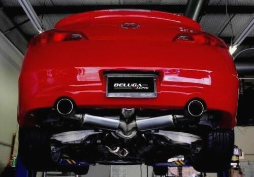 "For Infiniti G37 08-13 Vq37vhr 70mm 2.75"" High Performance Resonated Exhaust"