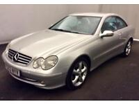 MERCEDES CLK270 CDI AUTO A/GARDE COUPE >FULL MOT..SALE PRICE< LOOKS+DRIVES GOOD
