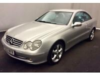 MERCEDES CLK270 CDI AUTO AVANTGARDE COUPE >REDUCED SALE PRICE< LOOKS+DRIVES GOOD