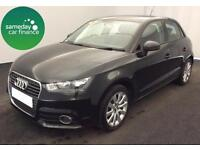 FROM £201.76 PER MONTH BLACK 2014 AUDI A1 1.6 TDI SPORT 5 DOOR DIESEL MANUAL