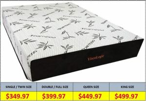 Memory Foam Mattress- 70% OFF -BIG SALE- Free Shipping