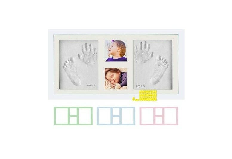 Kubai Baby Hand And Footprint Frame - NEW