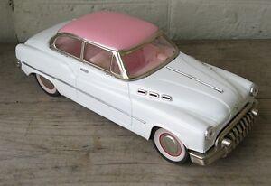 Super Vintage Litho Tin Buick Car, friction drive.