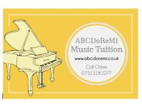 SINGING, PIANO, VIOLIN lessons. 121, bespoke teaching. All ages and abilities. FREE taster lessons.