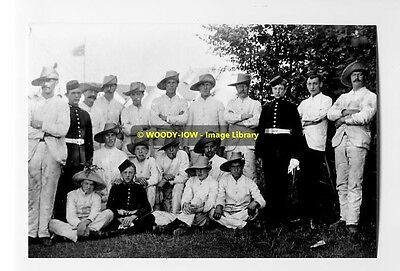 rp5827 - RGA Military on Isle of Wight c1898 - photo 6x4