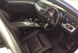 BMW 530D SILVER 3.0 M SPORT STEP SALOON DIESEL FROM £88 PER WEEK!