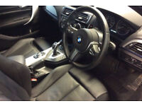 Blue BMW M1 135i 3 door Auto 326bhp Full Leather FROM £109 PER WEEK!
