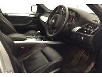 Silver BMW X5 3.0 d M Sport xdrive Auto 7 seats 2013 FROM £98 PER WEEK!