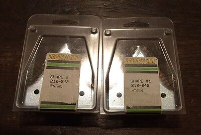 20 Sickle Replacement Blades John Deere Hesston Top Serrated Plated Heavy Duty