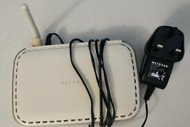 NETGEAR Wireless modem router ! excellent working order Bargain!