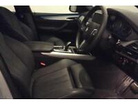 BMW X5 SILVER 30D XDRIVE MSPORT 7 SEAT STATIONWAGON DIESEL FROM £190 PER WEEK!