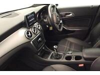 BLACK MERCEDES-BENZ CLA 220 200 180 CDI AMG LINE Coupe SPORT FROM £84 PER WEEK!
