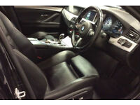 Carbon Black BMW 520d M Sport Diesel Auto 2014 FROM £77 PER WEEK!