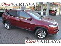 2015 Jeep Cherokee 2L Manual Limited 4X4 ** MANUAL 4X4 ** Diesel red Manual