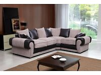 TANGO CORNER SUITE - VERY COMFY - BRAND NEW - 599!! BLACK/GREY OR BROWN/BEIGE