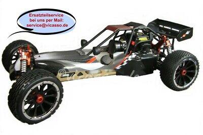 Amewi Pitbull X RC Großer Offroad Buggy 1:5 30ccm Verbrenner 2,4GHz RTR Benziner