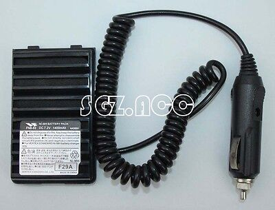 For Yaesu Car Battery Adaptor Eliminator  Fnb 83 Vx 170 Vxa 150 Ft 60R Us Stock