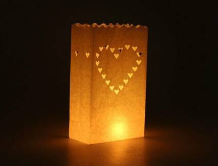 Wedding decorations in queensland miscellaneous goods gumtree wedding decoration light candle bags x 50 new pickup or post junglespirit Gallery