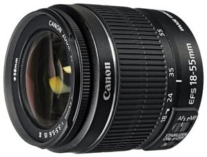 Never used Canon Zoom Lens EF-S 18-55mm f/3.5-5.6 IS II