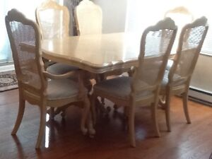French Provincial 10 pcs dining room set