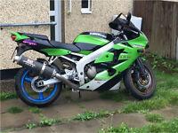 Kawasaki Zx6r ninja £850ono
